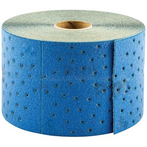 Norton® 63642506114 06114 A975 Series NorGrip Sheet Roll, 2-3/4 in W x 13 yd L, P120 Grit