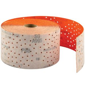 Norton® 65500 65500 A995 Series NorGrip Sheet Roll, 2-3/4 in W x 9 yd L, P40 Grit