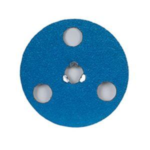 Norton® 66261126558 26558 F826P Series Locking See-Thru Grinding Disc, 5 in Dia, 50 Grit, Blue