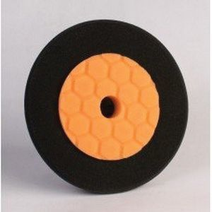 RBL Products, Inc. 5-6OB 5-6OB Dual Density Pad, 6 in Dia, Orange and Black