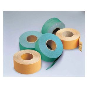 Sunmight USA Corporation 22107 22107 Open Coated Sheet Roll, 2-3/4 in W x 45 yd L, P100 Grit, Premium Aluminum Oxide Abrasive