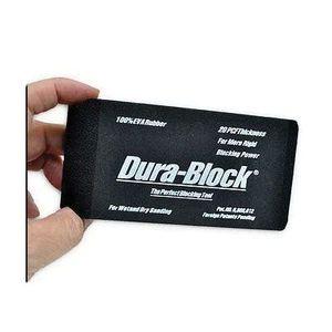 Dura-Block AF4401 AF4401 Type 1/3 Sanding Block, 2-5/8 in W x 5-1/2 in L, PSA Attachment, EVA Rubber