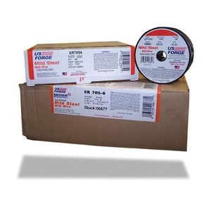US Forge Inc. 00654 00654 MIG Wire, 0.023 in Wire, 70S-6 Mild Steel Wire, 10 lb
