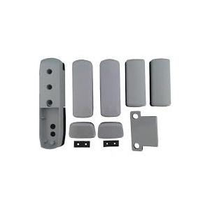 Gaab T373-04 Rim Panic Exit Device Touch Series For Double Leaf Door With Access Grey