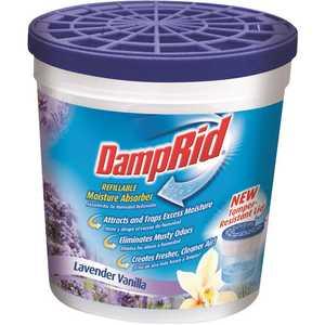 DampRid FG01LV 10.5 oz. Lavender Vanilla Refillable Moisture Absorber