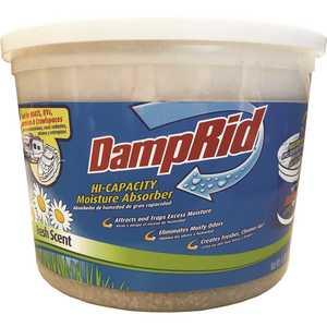 DampRid FG50FS 4 lbs. Hi-Capacity Moisture Absorber Fresh Scent