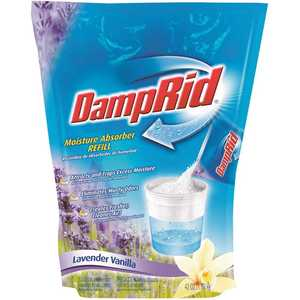 DampRid FG30LV 42 oz. Lavender Vanilla Moisture Absorber Refill