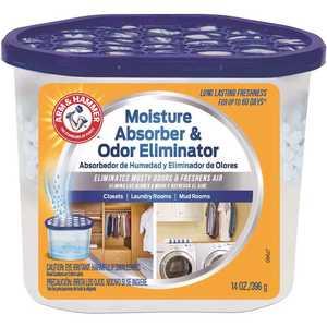 Arm & Hammer FGAH14 14 oz. Disposable Moisture Absorber and Odor Eliminator