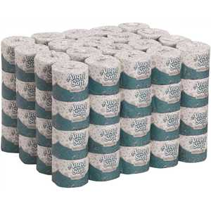 Angel Soft Professional Series 16880 2-Ply White Standard Roll Bath Toilet Paper (450-Sheets per Roll, )