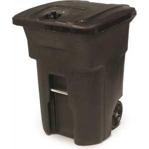 Toter 25B96-01BKS 96-Gal. Black Bear-Tight Wheeled Trash Can