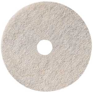 Cleansource REN02096 Renown 27 in. Natural White Burnishing Floor Pad