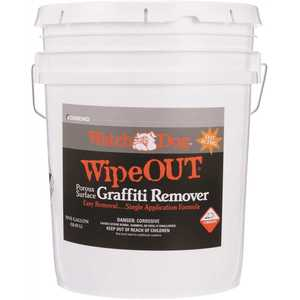 Watch Dog 8405 5 Gal. Wipe Out Porous Surface Graffiti Remover