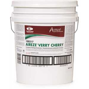Aireze 002459805715 5 Gal. Verry Cherry Liquid Dumpster and Garbage Deodorizer