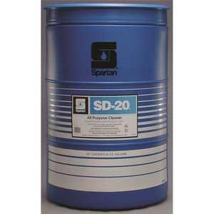 Spartan Chemical 002055 SD-20 55 Gallon Citrus Scent All-Purpose Degreaser