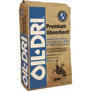 Oil-Dri I01050G40 50 lbs. Premium Absorbent Bag
