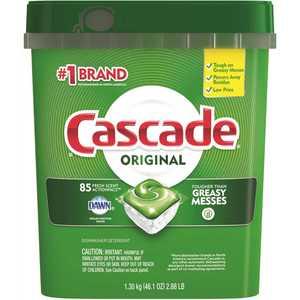 CASCADE 003700018629 ActionPacs Fresh Scent Dishwasher Detergent