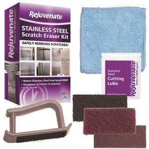 Rejuvenate RJSSRKIT Stainless Steel Scratch Eraser Kit