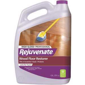 Rejuvenate RJ128PROFG 128 oz. Professional High Gloss Wood Floor Restorer