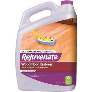 Rejuvenate RJ128PROFS 128 oz. Professional Satin Finish Wood Floor Restorer