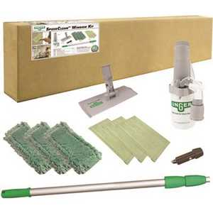 Unger CK053 Speedclean Drip-Free Indoor Window Cleaning Kit