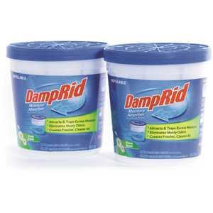 DampRid FG60FS 10.5 oz. Fresh Scent Refillable Moisture Absorber