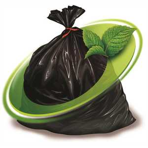 Mint-X MX29T Rodent Repellent Compactor Tubing Trash Bags (No Seal) 29 in. #4 in Black 263 ft. (1-Pallet of )