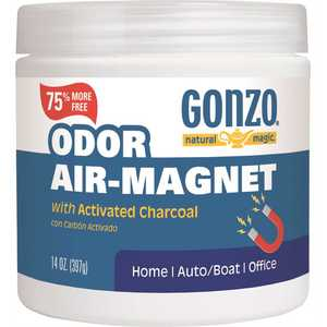 Gonzo Natural Magic 4158 Odor Air Magnet with Activated Charcoal