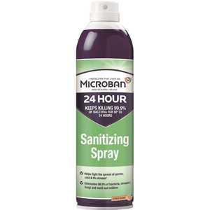24-Hour 15 oz. Citrus Scent Sanitizing Aerosol Spray