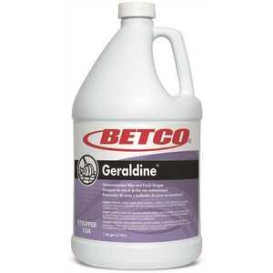 Betco 10404-00 Geraldine Non Ammoniated 4 Gal./1 Gal. Floor Stripper