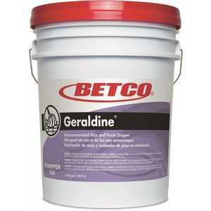 Betco 10405-00 Geraldine Non Ammoniated 5 Gal. Pail Floor Stripper