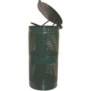 DOGIPOT 135-1028 Aluminum Trash Receptacle
