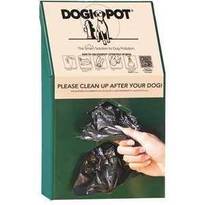 DOGIPOT 135-1002 Aluminum Junior Bag Dispenser
