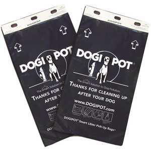 DOGIPOT 135-1029 Header Pak Smart Litter Pick Up Bags