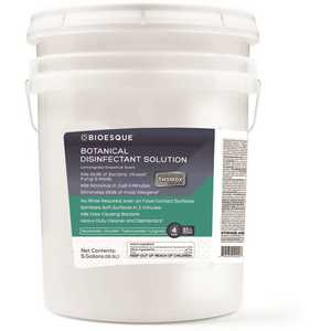 BIOESQUE BBDS5G 5 Gal. Botanical Disinfectant Solution Pail