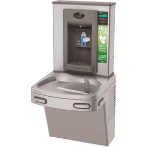 OASIS PG8EBF STN VersaCooler II COMBO ADA Stainless Electronic Bottle Filler and Refrigerated Drinking Fountain