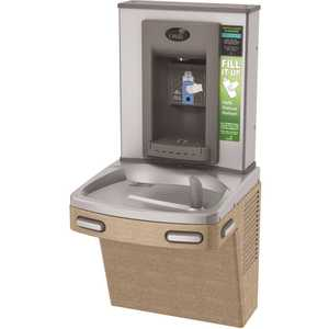 OASIS PG8EBF VersaCooler II COMBO ADA Sandstone Electronic Bottle Filler and Refrigerated Drinking Fountain