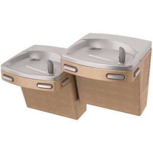 OASIS PGF8ACSL VersaCooler II Energy/Water Conservation, ADA, Sandstone Universal Bi-Level Filtered Refrigerated Drinking Fountain