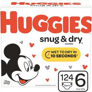 HUGGIES 49903 Snug & Dry Size 6 Diapers