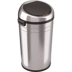 HLS COMMERCIAL HLS23RC 23 Gal. Round Sensor Stainless Steel Trash Can