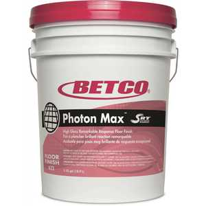 Betco 6320500 5 Gal. Photon Max with SRT Pail Floor Finish