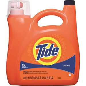 TIDE 003700040367 138 fl. Oz. Original Scent Liquid Laundry Detergent (96 Loads)