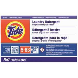 TIDE 003700008921 Ultra-Original Scent Powder Laundry Detergent Plus Bleach for Coin Vend (1-Load, )