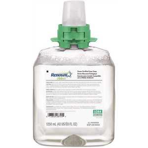 Renown 5165-04-B4W00LG Fmx-12 Dispenser Refill 1250 mL Unscented Green Sealed Foam Handwash Soap