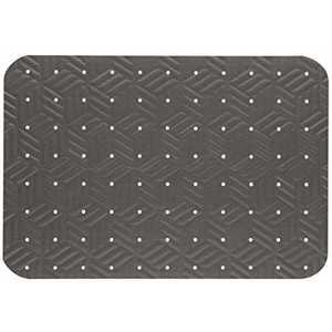 WET STEP 789223007 Grey 24 in. x 35 in. Slip-Resistant Mat