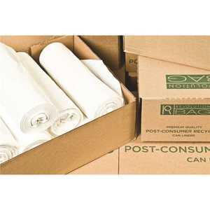 REVOLUTION BAG PC36LWN 30 Gal. 30 in. x 36 in. 0.30 mil Natural Low-Density Trash Can Liner (/Case)
