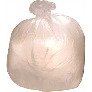 Colonial Bag CXC3050H 60 Gal. Clear Low Density Can Liner