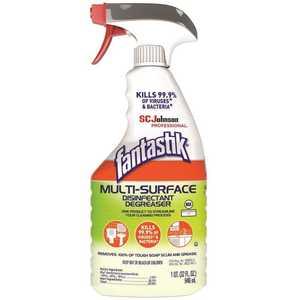 FANTASTIK 311836 Multi-Surface Disinfectant Degreaser 32 oz. Trigger