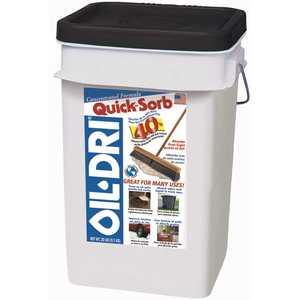 Oil-Dri I05000G60 20 lb. QuickSorb Concentrated Absorbent