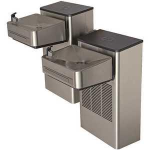 HAWS 1202SF Wall Mount Hi-Lo ADA Filtered Water Cooler Drinking Fountain