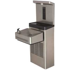 HAWS 1211S Wall Mount ADA Water Cooler Drinking Fountain with Bottle Filler